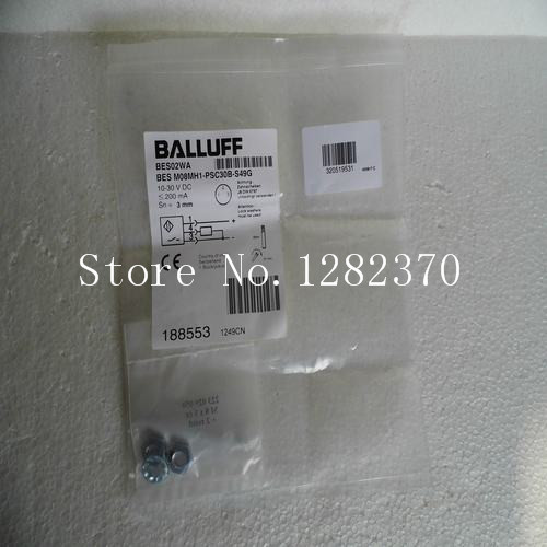 [SA] New original special sales BALLUFF sensor BES M08MH1-PSC30B-S49G spot --2PCS/LOT [sa] new original authentic special sales elco sensor os90 s306q1 spot 2pcs lot