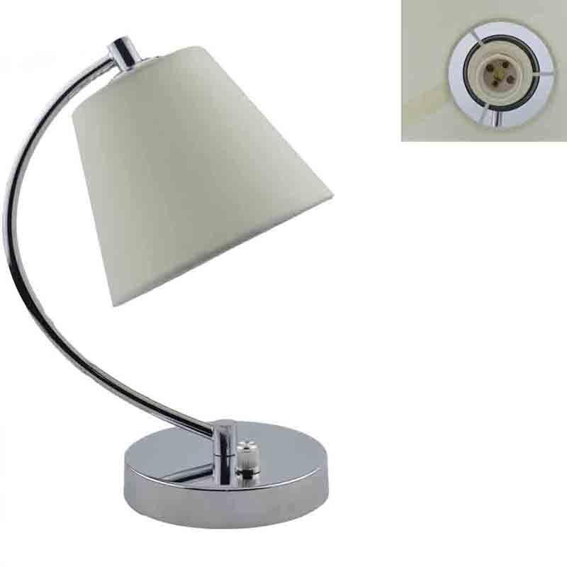 GLW Dimmable lampe de bureau moderne lampe de Table Simple tissu tissu ombre Table de chevet chambre salon Flaxen décor lumière