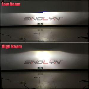 Image 5 - Sinolyn פנס עדשות מלאך עיניים דו קסנון עדשת 3.0 פרו HID מקרן Retrofit COB LED Halo רכב אורות אביזרים DIY כוונון