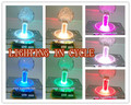 4 pcs of multi lighting color lighted Illuminated joystick with crystal bobble top ball and microswitch
