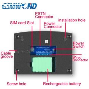 Image 3 - WiFi PSTN GSM מעורר מערכת ערכת בית מעורר מערכת 433MHz אלחוטי וקווית אזעקות מארח דלת פתוח חיישן אזעקות אפליקציה מקלדת מסך