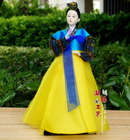Japan North Koreans Silk Person Korean Food 28 30CM Home Furnishing Articles Decoration Craft Gift Beauty