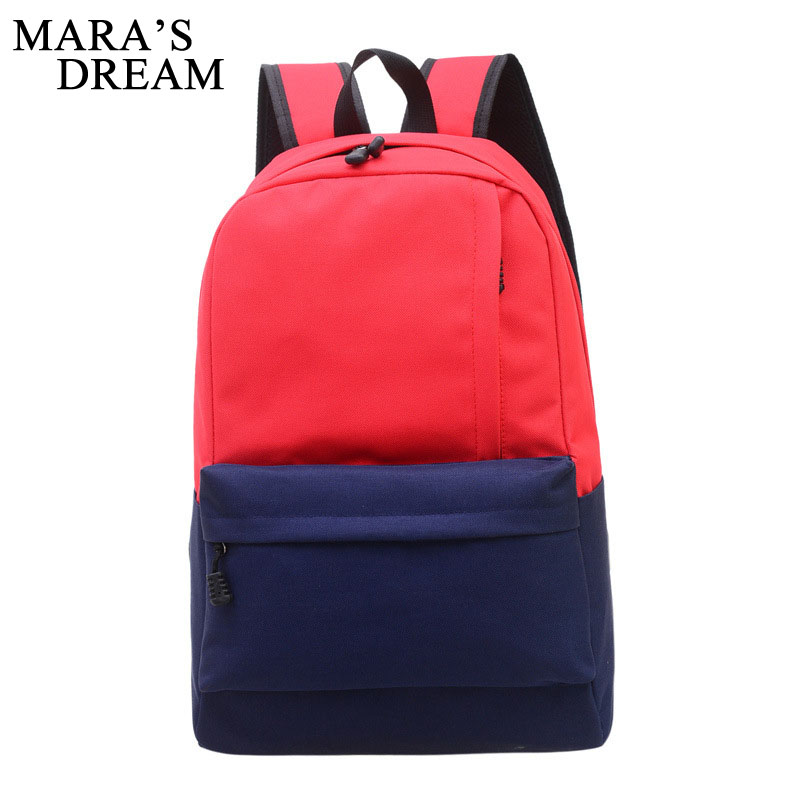 Mara's Dream 2018 Backpack Women Children Schoolbag Back Pack Casual Ladies Knapsack Laptop Travel Bags For School Teenage Girls fashion school backpack men boys schoolbag back pack leisure korean man laptop knapsack waterproof travel bags for teenagers