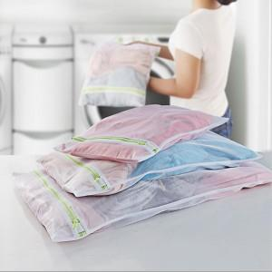 3 Pieces/Set Different Size Bra Laundry Bags Large Laundry Bags for Clothes Mesh Foldable Bags Personal Care Washing Bag