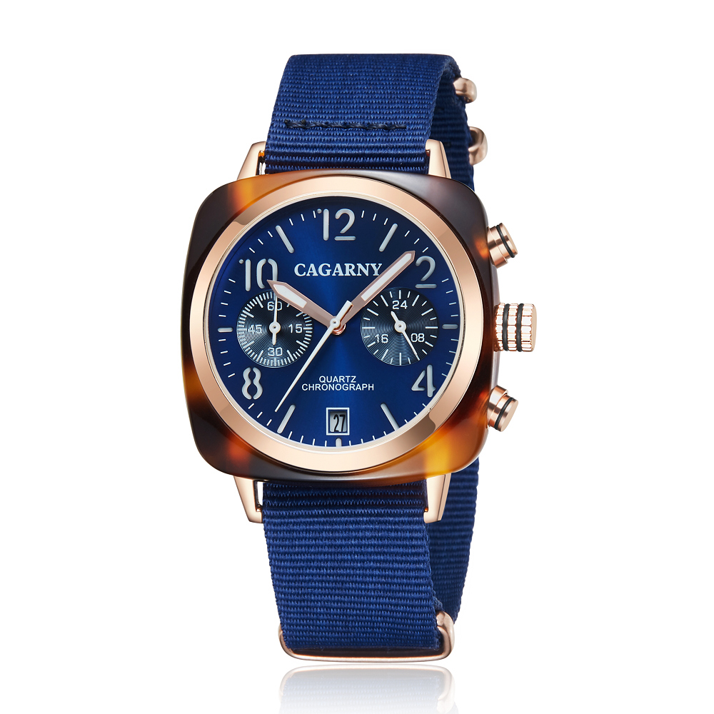 2019 Classic Chronograph Quartz Watches androgynous Fashion Watch His or Hers Wristwatch for Men Women Lovers Wedding Romantic Gift  (18)