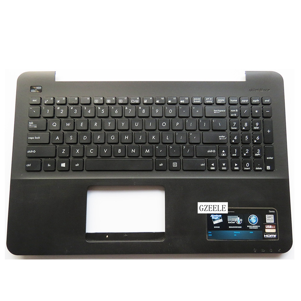 New For Asus K555 A555 X555 K555L A555L X555L W519L Y583L Laptop keyboard US Version keyboard  C case black laptop keyboard for asus ux51 ux51vz 9z n8bbu h01 with us version