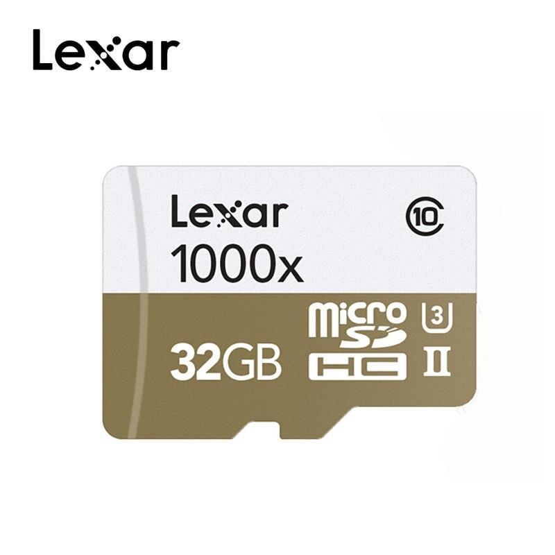 Image 2 - Original Lexar Micro SD 128GB Memory Card 16GB 32GB UHS II U3 Max 150MB/s 64GB Class10 cartao de memoria tarjeta micro sd-in Micro SD Cards from Computer & Office