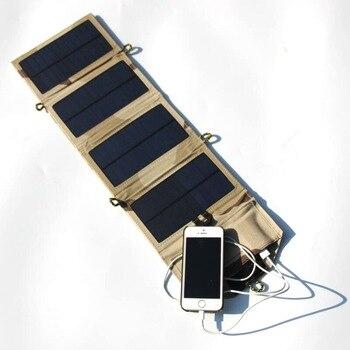 Portable Folding 7W Solar Power Bank