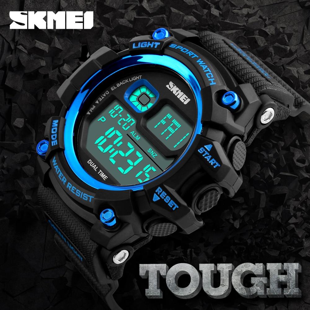 Stile di lusso skmei vigilanza di modo degli uomini g sport impermeabile orologi militari resistente agli urti resistente led digitale orologi sportivi da uomo