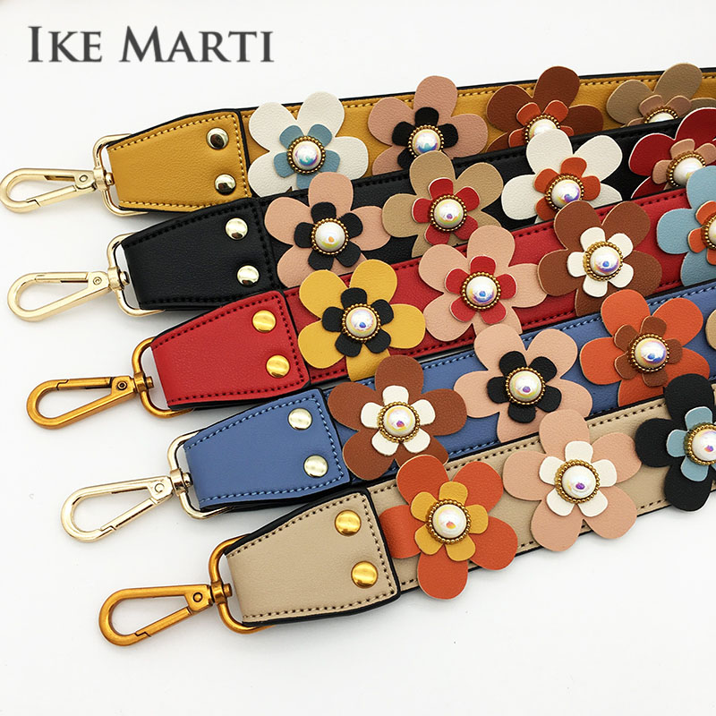 Flower Wide Shoulder Bag Strap Accessories For Handbags Straps You For Colorful Shoulder Straps For Crossboy Bag Parts Long Belt