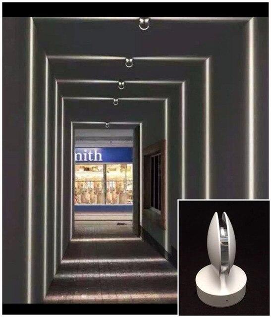 Led Window Light Door Frame Spotlights Hotel Ktv Restaurant Aisle Corridor Lamp Entrance Line