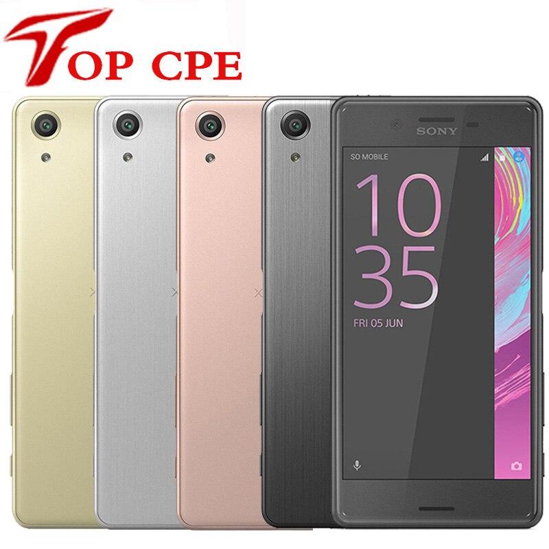 Sony – smartphone Xperia X Performance F8131, téléphone portable, double sim, 3 go de RAM, 32 go de ROM, LTE Quad Core, écran 5.0 pouces, caméra 23mp, WIFI, GPS, Original