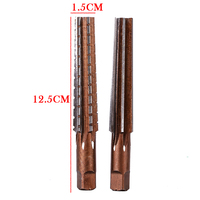 2pcs New Hand Reamers Set MT2 Steel Morse Taper Hand Reamers Set For Milling Finishing Cutter