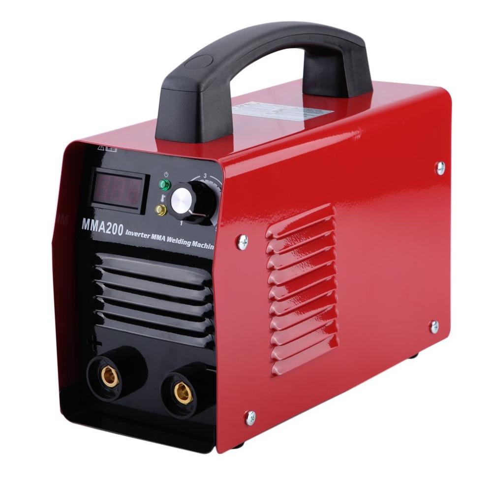 цена на MMA200 Welding Machine Professional Inverter Weld Equipment Durable 220V IGBT MMA Welding Machine Metalworking Parts EU Plug