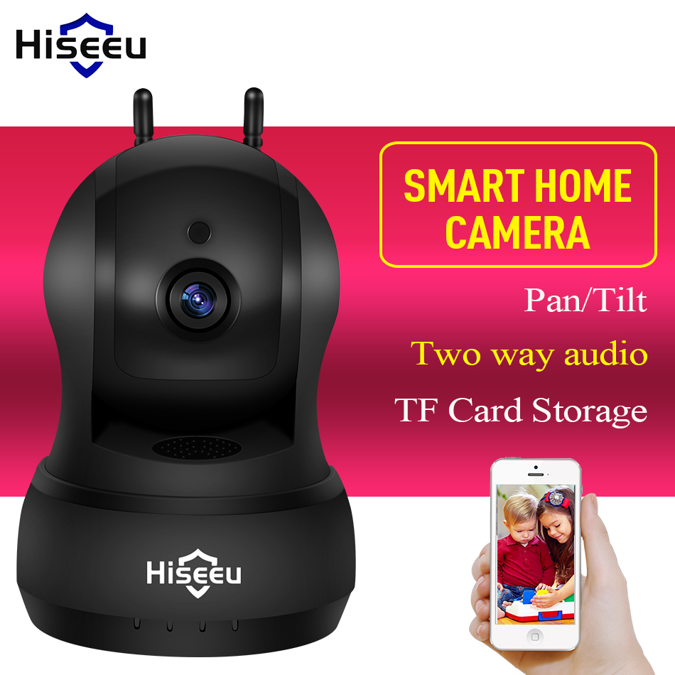 Hiseeu 720P IP Camera Wi-Fi Wireless Network camera audio TF Card CCTV Home video Surveillance Security Camera wifi baby monitor home security escam qf007 wireless hd ip camera wifi video surveillance camera wi fi 720p baby monitor network camera