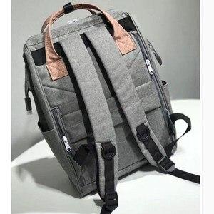Image 3 - オリジナル Anello バックパック大容量オックスフォード防水ノートパソコンのバックパックティーンエイジャー男性スクールバッグ女性おむつバッグ旅行バッグ