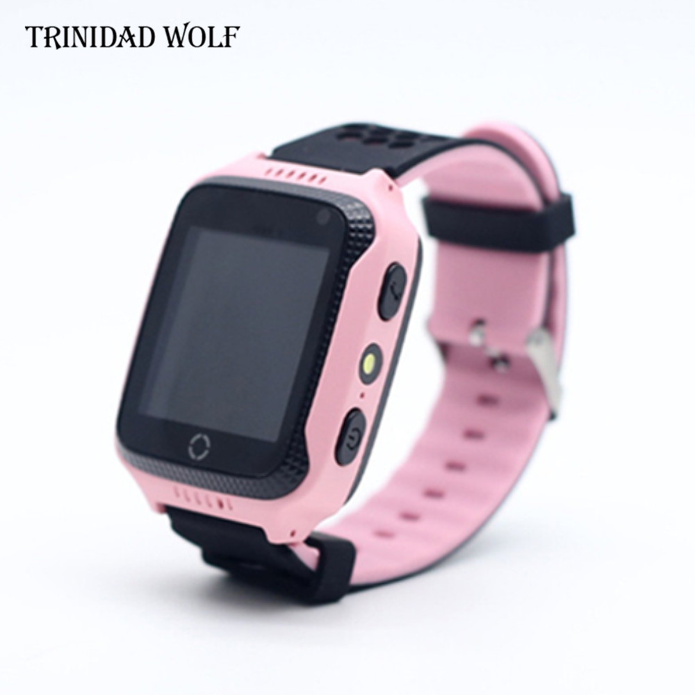 Touch Screen Anti Lost Watch For Kids With Camera Flashlight For Apple Android Phone GPS Watch Children Smart Anti-Lost Alarm top brand smart watch camera 1 2 inch tft capacitive touch screen shaking bluetooth heartrate for ios apple phone android phone