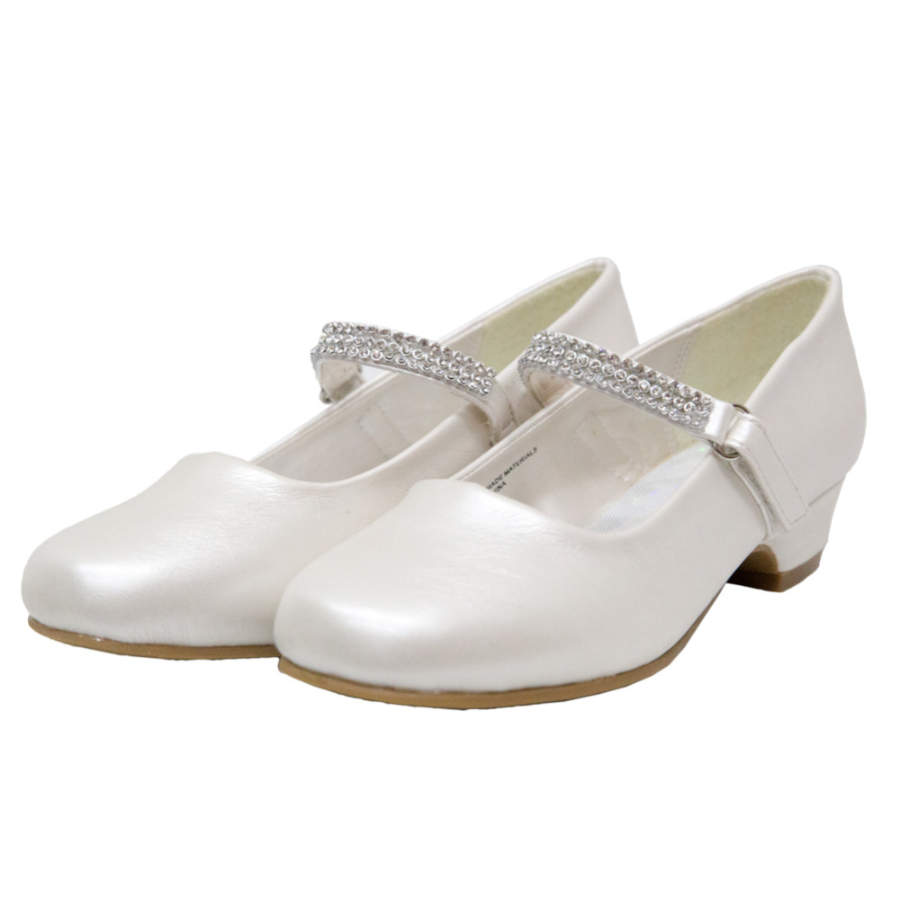 girls ivory shoes wedding