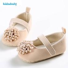 0-1 metų amžiaus pavasario ir vasaros rudenį Moteriški kūdikių batai Minkšti apačioje gėlės Princesės serija Kūdikiai YD221