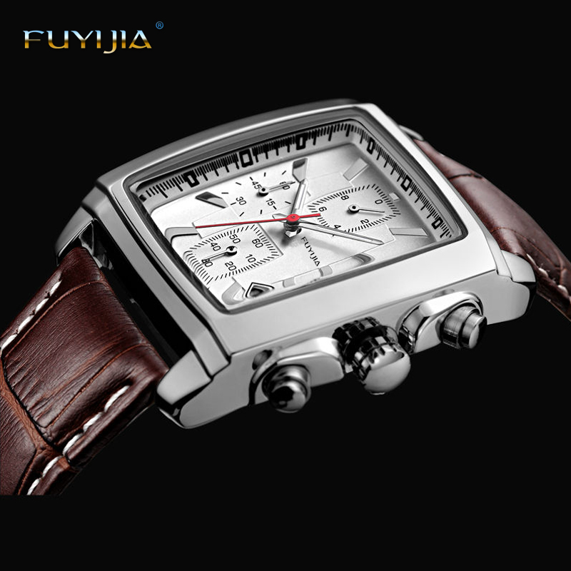 Hot men's Wristwatches men quartz watch male Top brand luxury man clock Multifunctional sport bracelet watch relogio masculino цена 2017