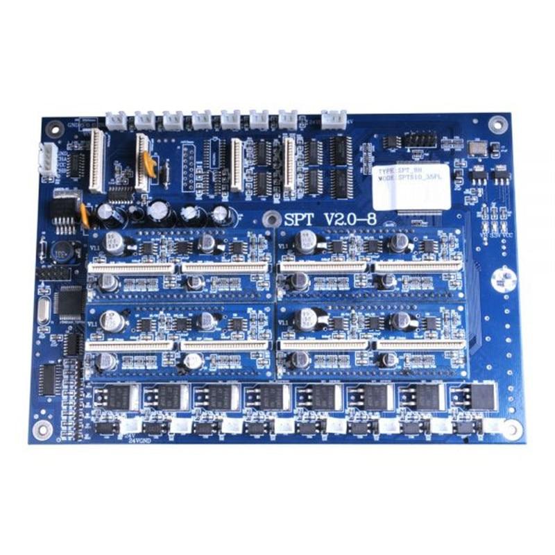 SPT-510 35PL Printhead Carriage Board For Crystaljet CJ-4000 Series Printer spt 510 35pl original printhead for infiniti challenger machine