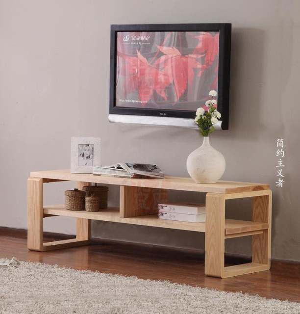 Japanese TV cabinet Nordic IKEA furniture MUJI style loft