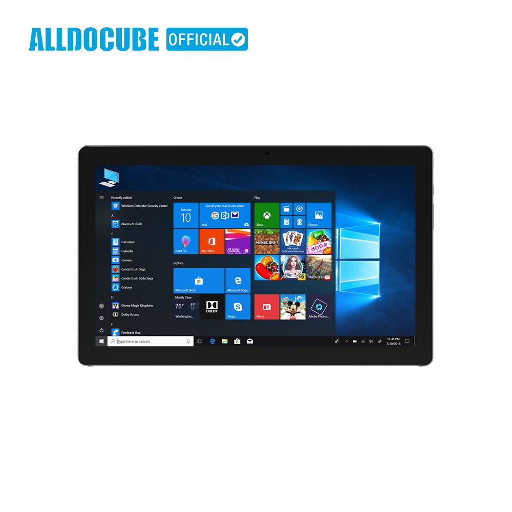 ALLDOCUBE KNote5 windows10 Tablet PC 11.6 pouce FHD 1920*1080 IPS Intel Gemini Lac N4000 Dual Core 4 gb RAM 128 gb ROM Double WiFi