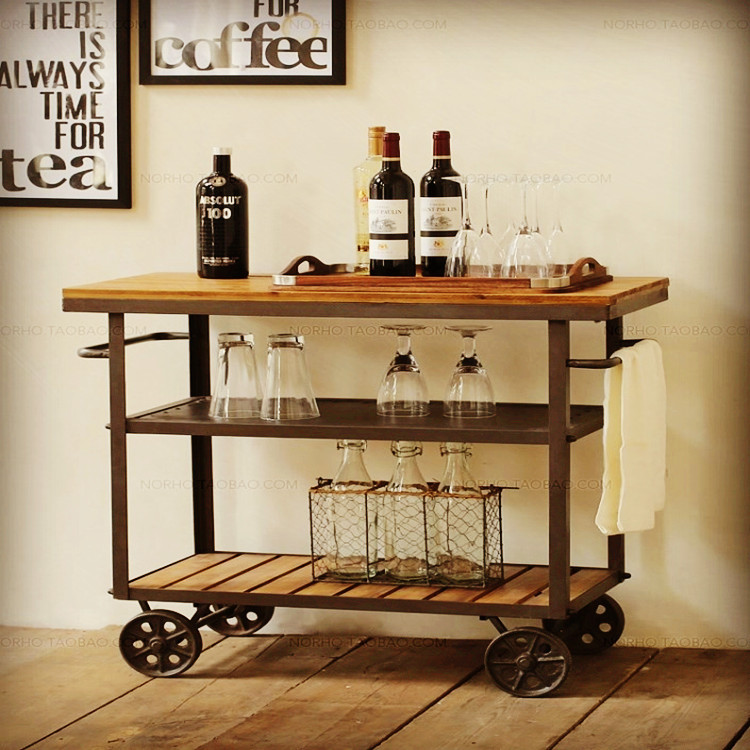 wrought iron and wood furniture. Cheap Imitation Wrought Iron Bar Chairs Suite Furniture Retro Wood To Do The Old Rotary Tables Round Dinette-in Dining From On And