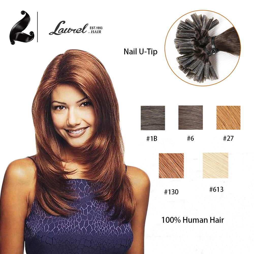 2015 Best Sell Nail Tip U Tip font b Hair b font Extensions 0 5g Strand
