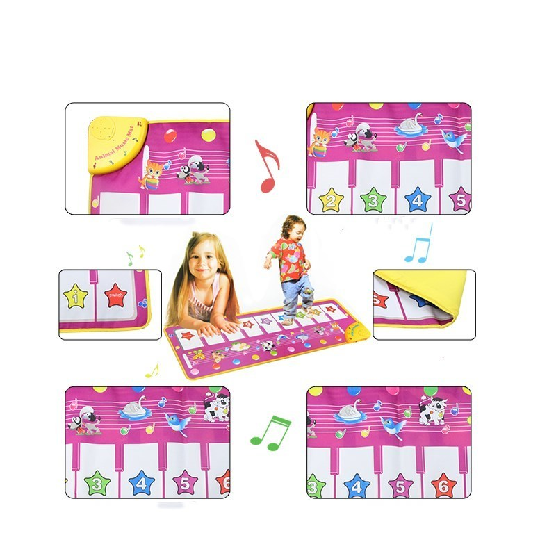 4-Design-Music-Blanket-Musical-Learning-Mat-Colorful-Animal-Farm-Flash-Play-Mats-Baby-Toys-Music-Carpet-Touch-Toy-for-Baby-Kids-1