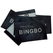 Customized big size garment labels clothing / logo /Trademark manufacture woven &printed Free Shipping
