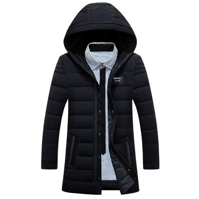 191e6f9301e6 Chaqueta de invierno de Down Luz Camperas Hombres Abrigo Con Cuello de Piel  chaquetas Para Hombre