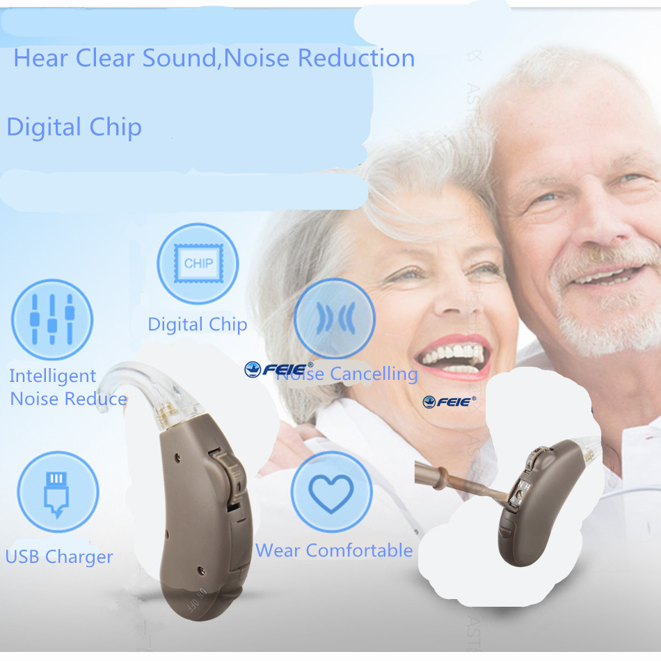 Siemens Digital Pocket Hearing Aid for Moderate to Severe Hearing Loss High Power Hearing Aids S-203 Free Shipping to USA Spain