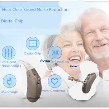 Siemens Digital Pocket Hearing Aid for Moderate to Severe Hearing Loss High Power Hearing Aids S-203 Free Shipping to USA Spain - DISCOUNT ITEM  11% OFF All Category