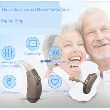 Siemens цифровой карманный слуховой помощь для умеренного к сильная потеря волос высокое Мощность слуховые аппараты S-203 Бесплатная доставка в США Испания