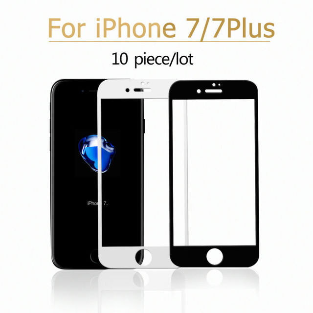 cheaper b4211 aa25d US $9.99  Aliexpress.com : Buy Wholesale 10pcs/Lot For Iphone 7 7 Plus  Tempered Glass Screen Protector Film Full Coverage For Iphone 6 6S Plus 9H  2.5D ...