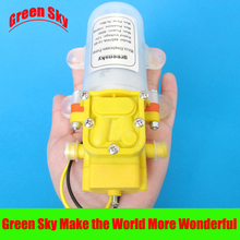 Electric sprayer pump watering irrigation usage diaphragm water dc 12v 60w