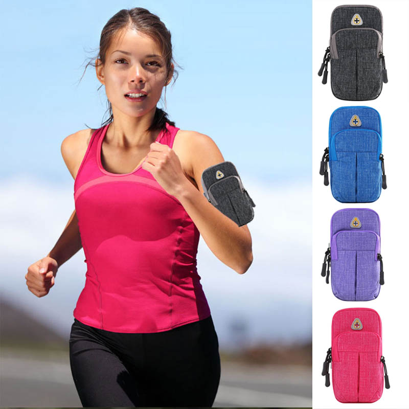 Universal Running Arm Bags Sports Bag Mobile Phone Armband Outdoor Pouch For Iphone 6/7/8 Samsung Huawei Outdoor Fitness Bags To Win A High Admiration Sports & Entertainment