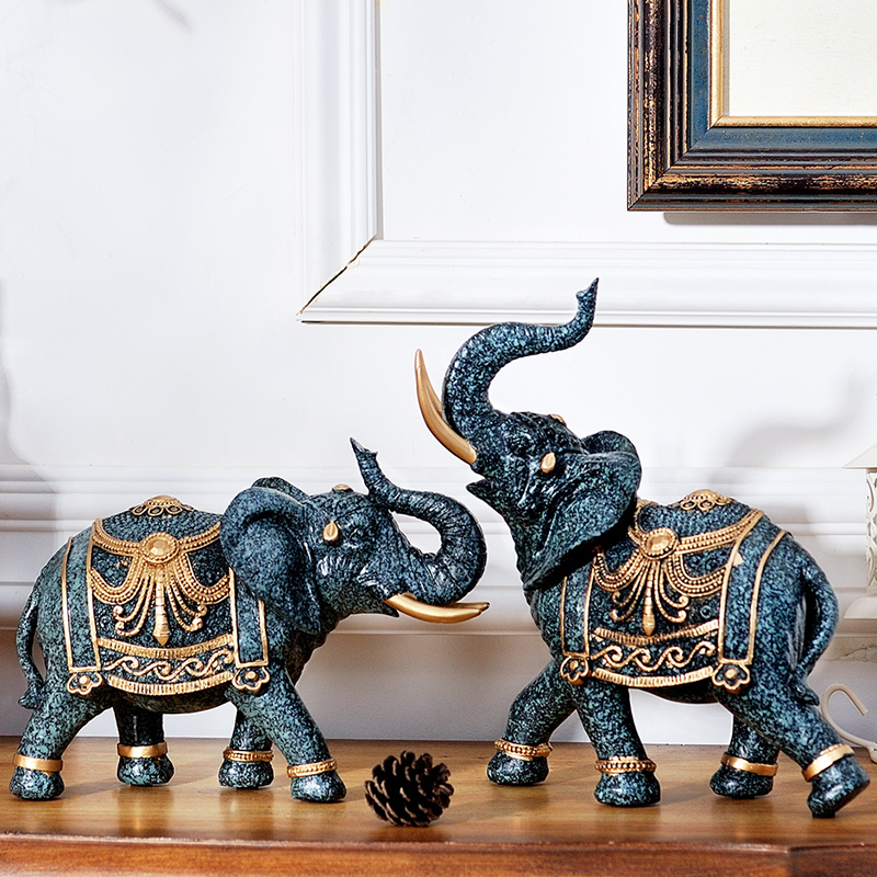 Living Room Decoration Elephant Tv Cabinet Decoration