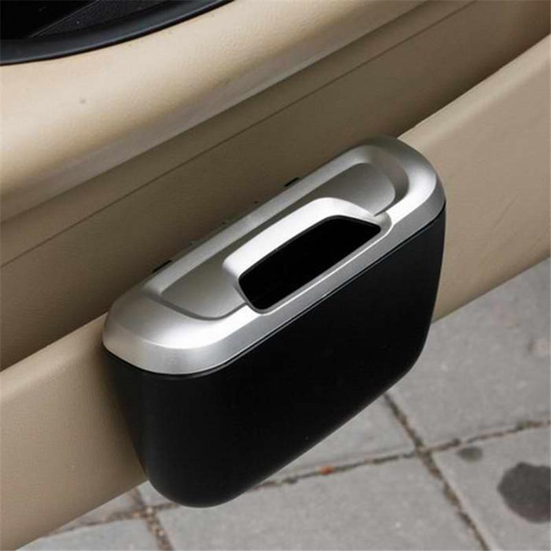 2016 New Universal Mini Auto Car vehicle Trash Rubbish Can Garbage Dust Case Holder Box Car