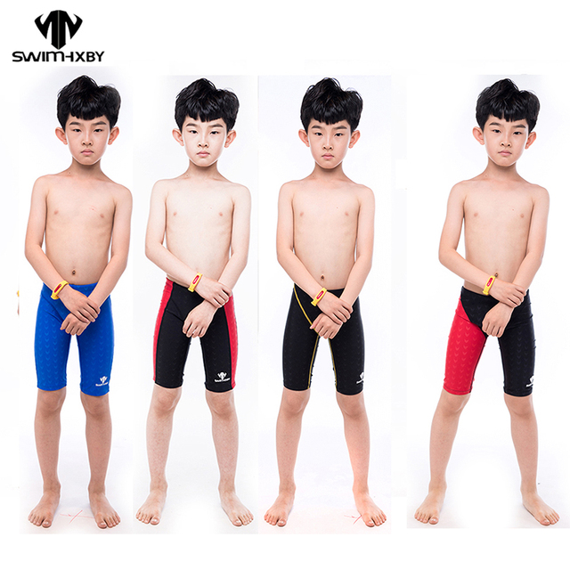 a7713e3cc5 HXBY Professional Kids Boys Swimming Trunks Boys Swimwear Shorts Swimsuit  Swim Trunks Boys Children profession swim trunks