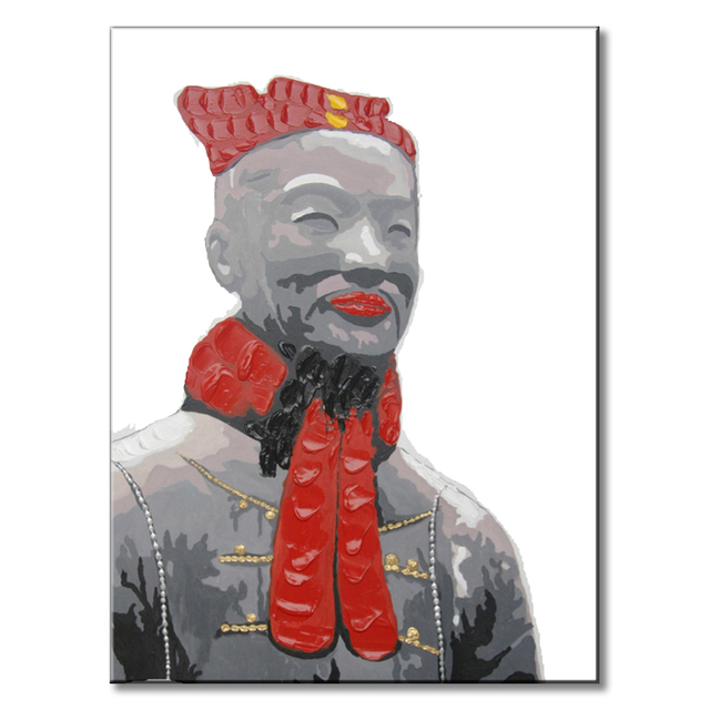 1 Pcs Famous Portrait Painting Chinese Traditional Qin Dynasty ...
