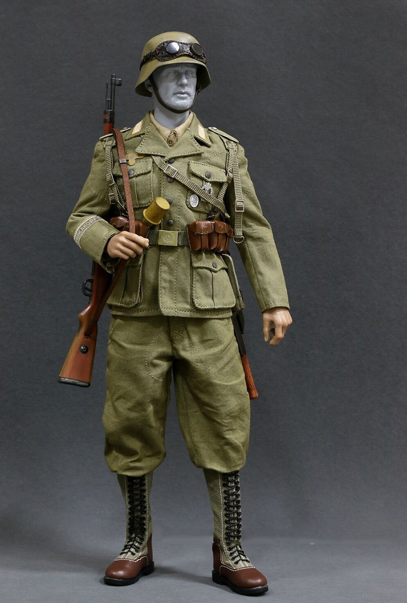 1/6 Scale WWII Afrika Korpsthe Wehrmacht Suit Combat Clothes  Weapon for 12 inches Soldier Action Figure world war ii german wwii wehrmacht officer 1 6 soldier set model stanford erich vo gm637 for gift collection