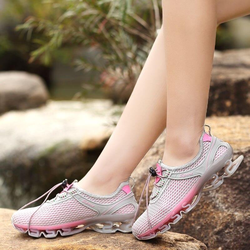 fbc5e3d405899 Marque Sneaker 2017 nouveau pas cher hommes chaussures de course femmes  superstar en plein air athlétique été respirant Jogging Sport chaussures n  taille 46 ...