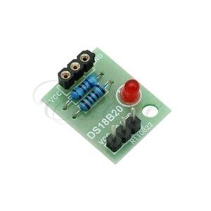 10 шт. /лот Стиль Новый DS18B20 Температура Сенсор Щит Модуль без DS18B20 чип