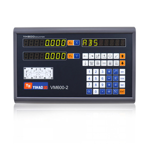 Image 4 - Complete 2 Axis Big LCD Digital Readout  Dro Set Kit and 2 PCS 5U Linear Glass Scale Linear Optical Ruler for Mill Lathe Machine