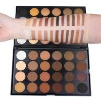 Marka Imagic Makijaż Shimmer Eye Shadow Palety Kolorów Minerały Smokey/Ciepłe Eyeshadow Palety Pigmentu 48 Kolory Wciśnięty Przeszklone