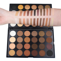 Brand Imagic Makeup Shining Eye Shadow Palette Minerals Smokey Warm Pigment 48 Colors Pressed Matte Nudes