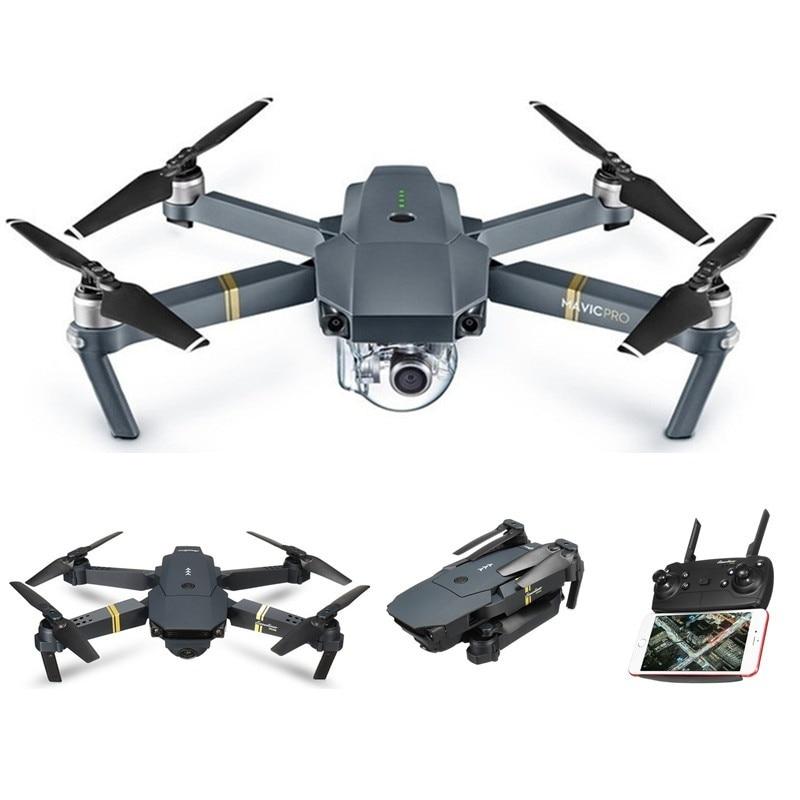 2.4 ghz 6 axes gyroscope 1080 p caméra Drone quadrirotor aéronef sans pilote (UAV) vol à distance Wifi 1080 p 120 degrés caméra hélicoptère sac de stockage avion