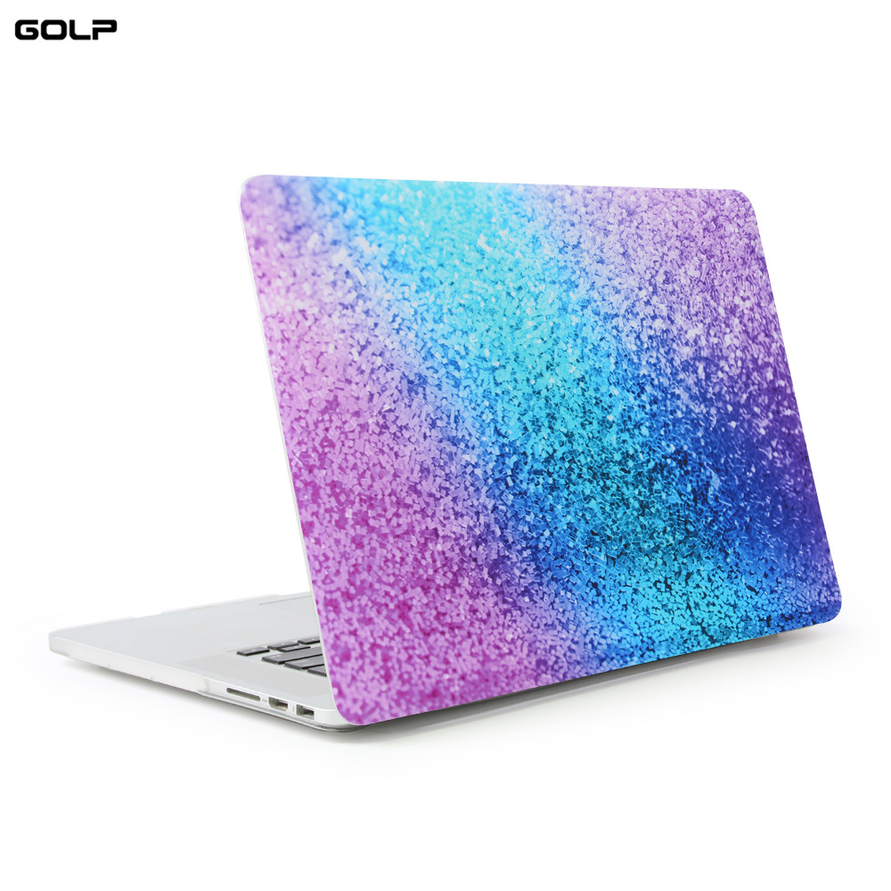 GOLP laptop Case For macbook Air Pro Retina 11 12 13 15 For Macbook 13.3 inch with Touch Bar, Hard PC Back Cover for Macbook
